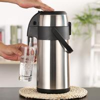 Pressure Type Stainless Steel Thermos Household Insulation Bottle Large Capacity 3L Keep Warm Water Pot Coffee Thermal Kettle