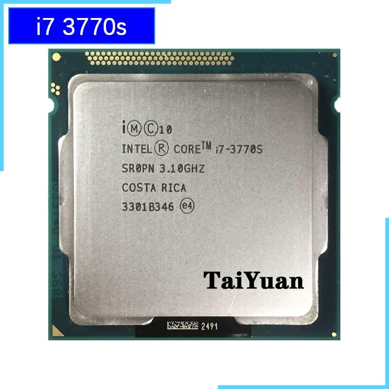 Intel Core i7 3770S i7 3770S i7 3770 S 3 1 GHz Quad Core Eight Core