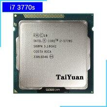 Процессор Intel Core i7 3770 S i7 3770 S 3,1 ГГц, четырехъядерный Восьмиядерный процессор 65 Вт, LGA 1155