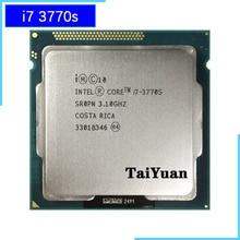 Intel Core i7 3770S i7 3770 S i7 3770 S 3.1 GHz Quad Core שמונה Core 65W מעבד מעבד LGA 1155