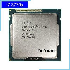 Image 1 - 인텔 코어 i7 3770S i7 3770 S i7 3770 S 3.1 GHz 쿼드 코어 8 코어 65W CPU 프로세서 LGA 1155