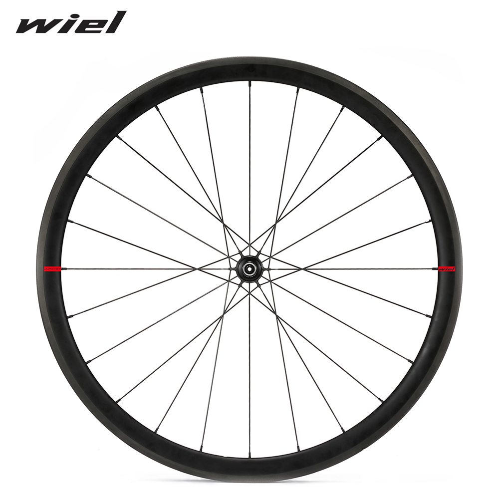 WIEL CR1 Carbon Wheels Road Bike Wheelset 700C Clincher Bicycle Race Ceramic Bearing 38mm 50mm Tubular Cycling R36 Hub Tubeless