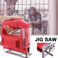 Electric Jig Saw Woodworking Electric Jigsaw Metal Wooden Gypsum Board Cutting Tool Multifunction Kit 110v/220v 750w