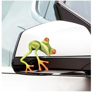Забавный 3D мультфильм красочные лягушки наклейки для автомобиля Наклейка виниловый чехол для тела поцарапанный автомобиль Стайлинг Аксессуары для мотоциклов