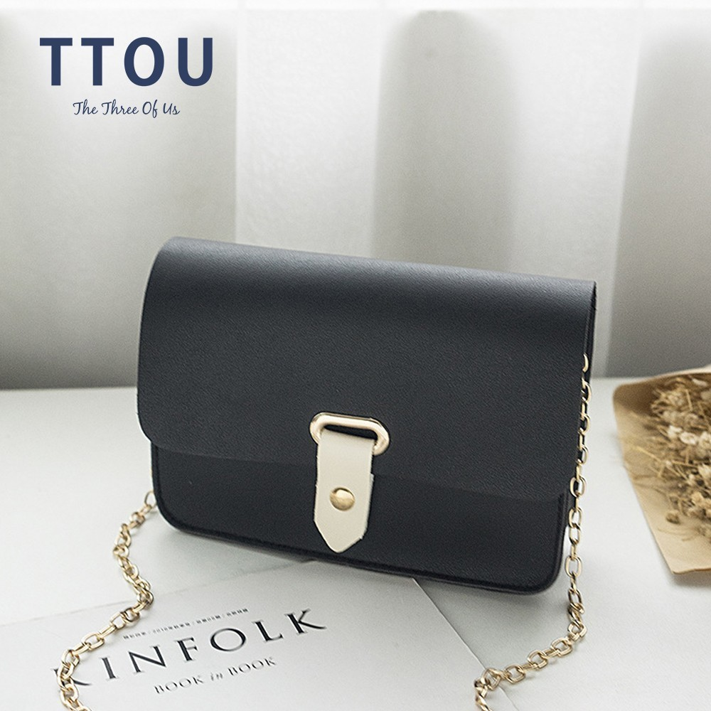 TTOU Women Pu Leather Messenger Bag Fashion Mini Chain Bag Female Shoulder Bag High Quality Flap Bag for Girl TTOU Women Pu Leather Messenger Bag Fashion Mini Chain Bag Female Shoulder Bag High Quality Flap Bag for Girl