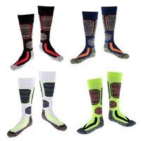 4 Pair Winter Thermal Ski Snow Walking Hiking Sports Towel Socks Mixed Color Men's Socks Warm and Comfortable