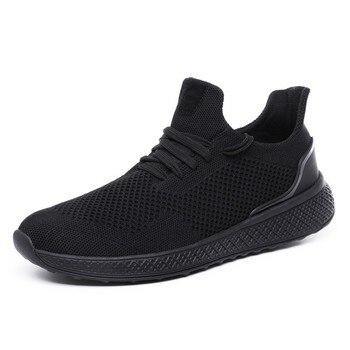 7c4bdf783 Летняя повседневная обувь мужские кроссовки для взрослых модная дешевая  Высококачественная дышащая мужская обувь; легкая большого размер.