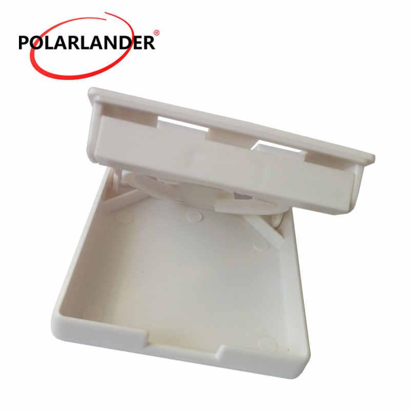 Soporte plegable ajustable para copa de bebida para barco marino caravana yate sujeción de coche brazos bebida plástico RV taza 4x4 blanco