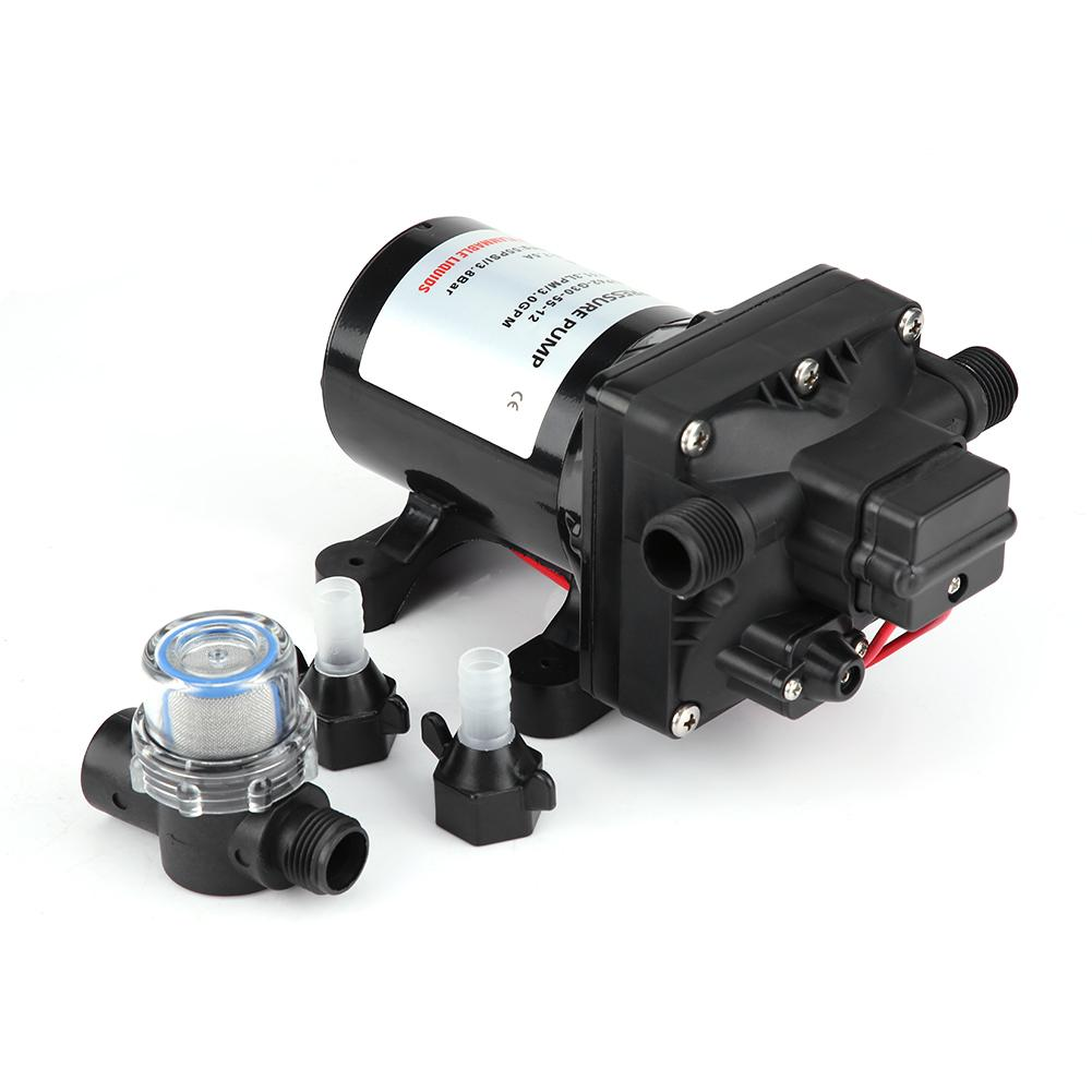 Sanitär 55 Psi 3 Gallonen Pro Minute 7,5 Amps 12 V Dc Rv Caravan Selbstansaugende Wasser Pumpe 4008-101-e65 Werkzeug