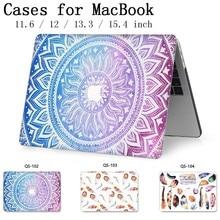 노트북 macbook 노트북을위한 새로운 케이스 슬리브 macbook air pro retina 11 12 13.3 15.4 인치 화면 보호기 키보드 코브