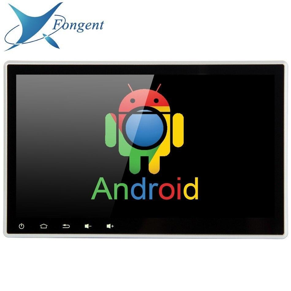 Doppio 2 din 10.2 pollice DVD Universale Android 8.0 Unità Principale Glonass GPS Radio Multimedia Player per tutta la Marca Del Veicolo Auto auto