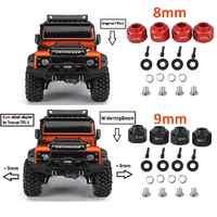 LeadingStar Auto 8MM/9MM Erweitern Adapter Set für 1/10 TRAXXAS TRX-4 TRX4 RC Lkw Räder