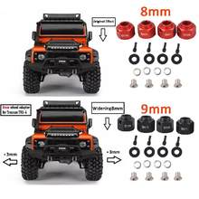 LeadingStar Auto 8 MM/9 MM Verruim Adapter Set voor 1/10 TRAXXAS TRX-4 TRX4 RC Vrachtwagens Wielen(China)