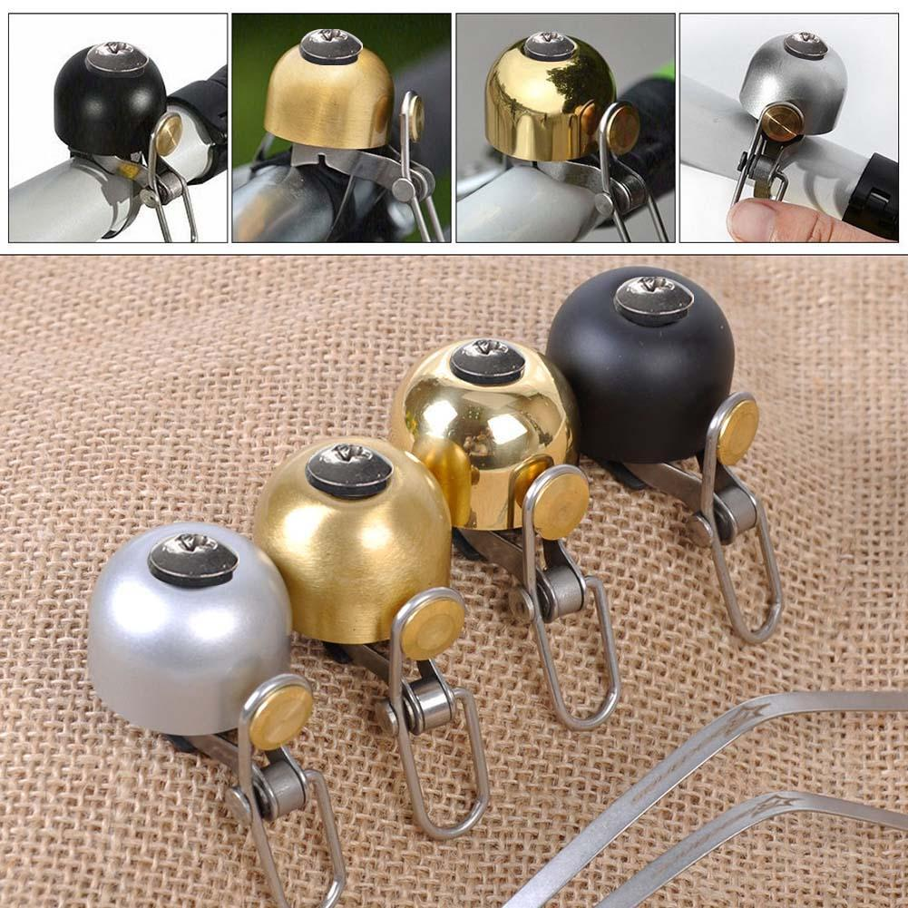 Cycling Safety Bells Bicycle Handlebar Metal Ring Bike Bell Horn Sound Alarm Bicycle Accessory Outdoor Protective Bell Rings