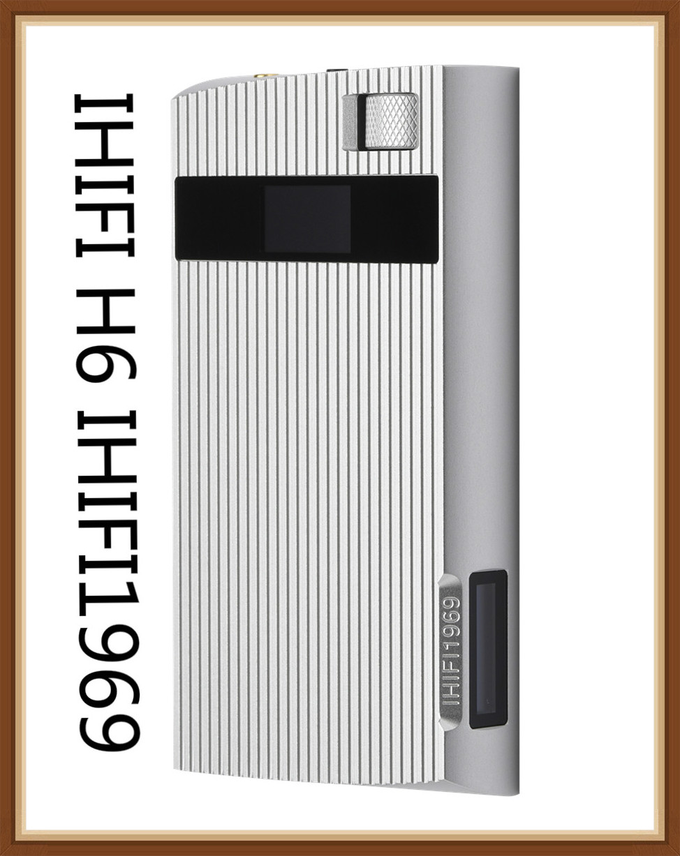 XUELIN H6 (IHIFI1969) AK4495 32Bit OLED Pure Class A Portable Loseless Music Player 6000mAh AMP 3.5/2.5 Balanced HiFi HD MP3