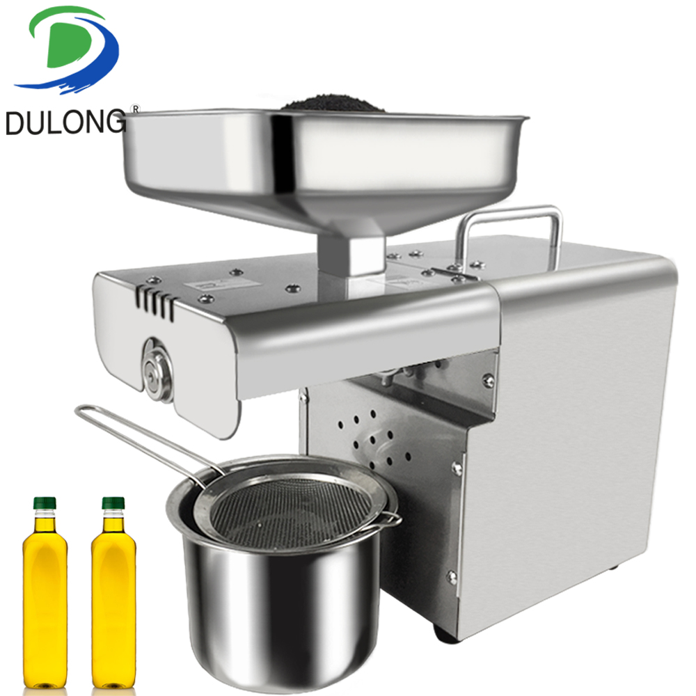 Fully Automatic Oil Maker Small Stainless Steel Home Oil Press Machine for Peanut Soybean etc.Fully Automatic Oil Maker Small Stainless Steel Home Oil Press Machine for Peanut Soybean etc.