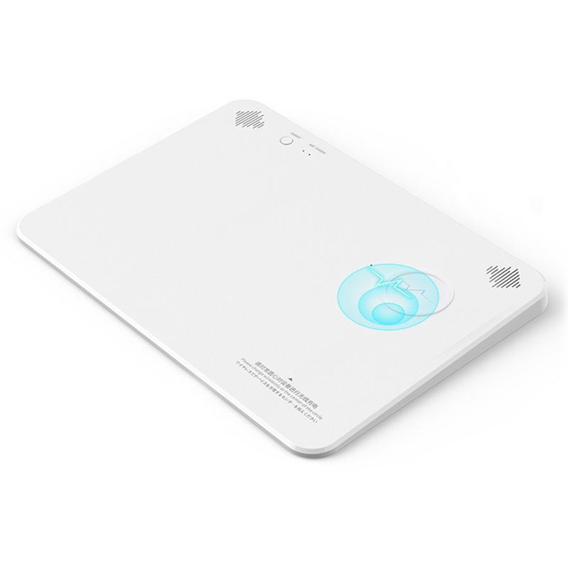 Tapis de souris multifonction multimédia Bluetooth haut-parleur sans fil chargeur tapis de souris sans fil Rechargeable tapis de souris