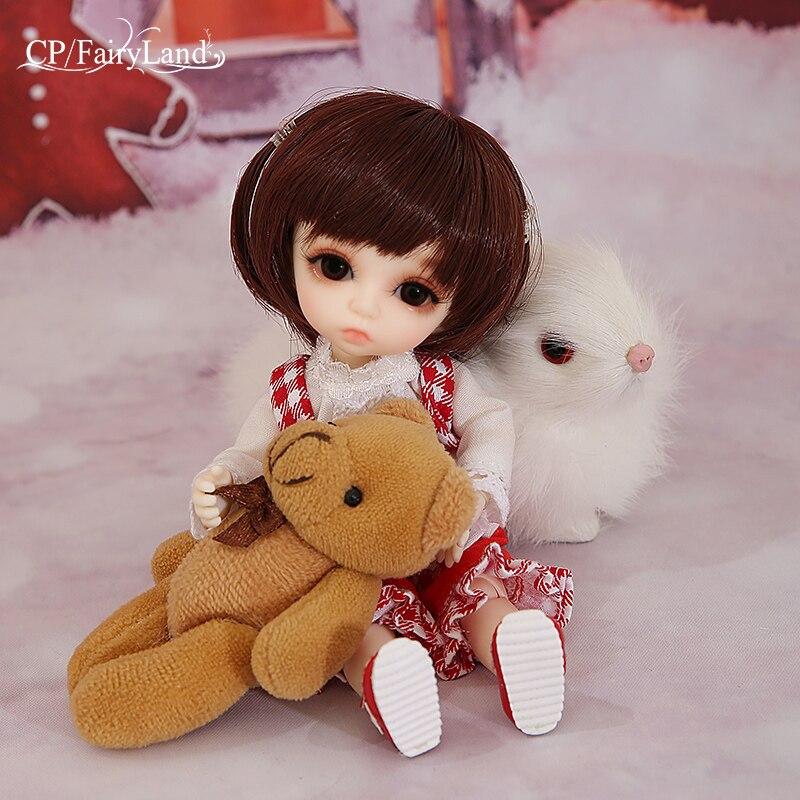 OUENEIFS Pukifee Bonnie Fairyland bjd sd doll 1 8 body toy resin dollhouse figures fl include