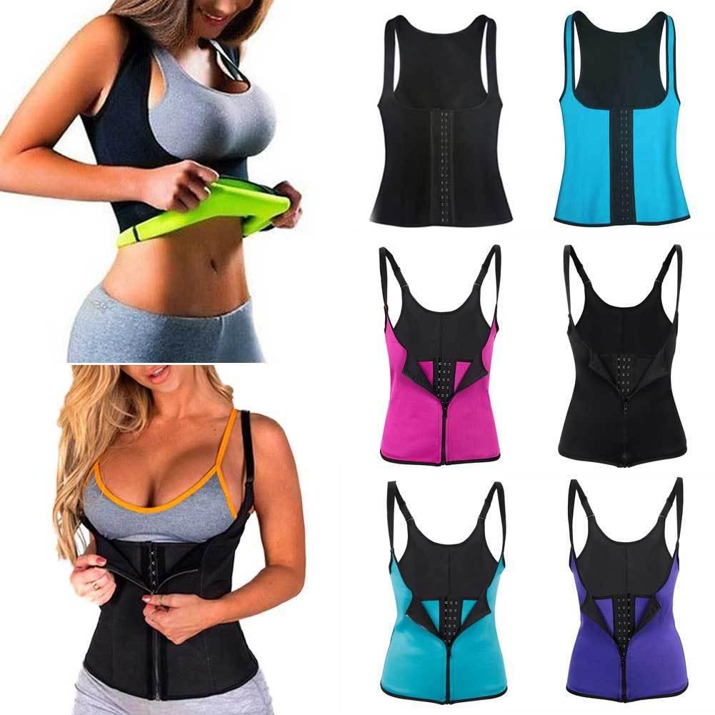 207a443a88188 2019 Hot Women Body Shaper Slimming Waist Trainer Cincher Underbust Corset  Shapewear Fat Burning Shapers Hot