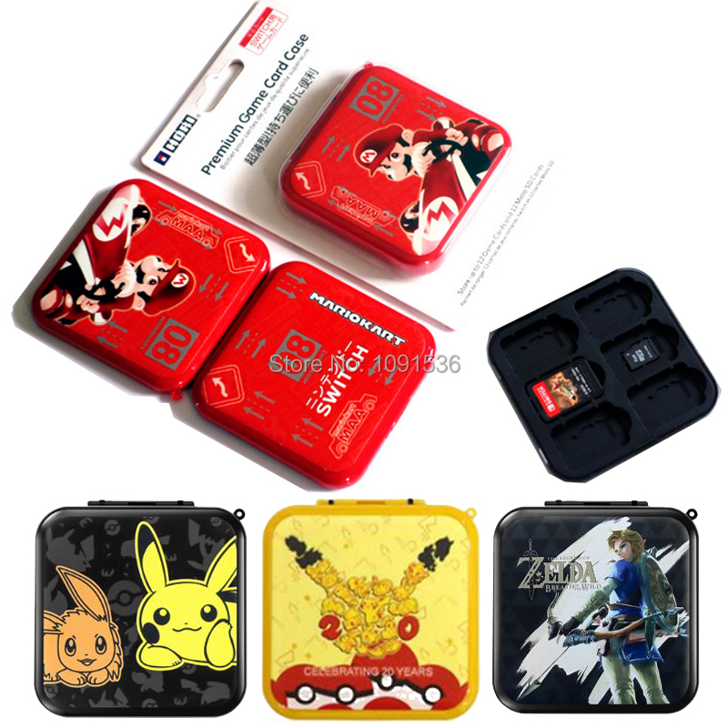 12 In 1 Nintend Switch Shockproof Game Cards Case Nintendos Switch Hard Shell Box For Nitendo Switch Games Storage Accessories