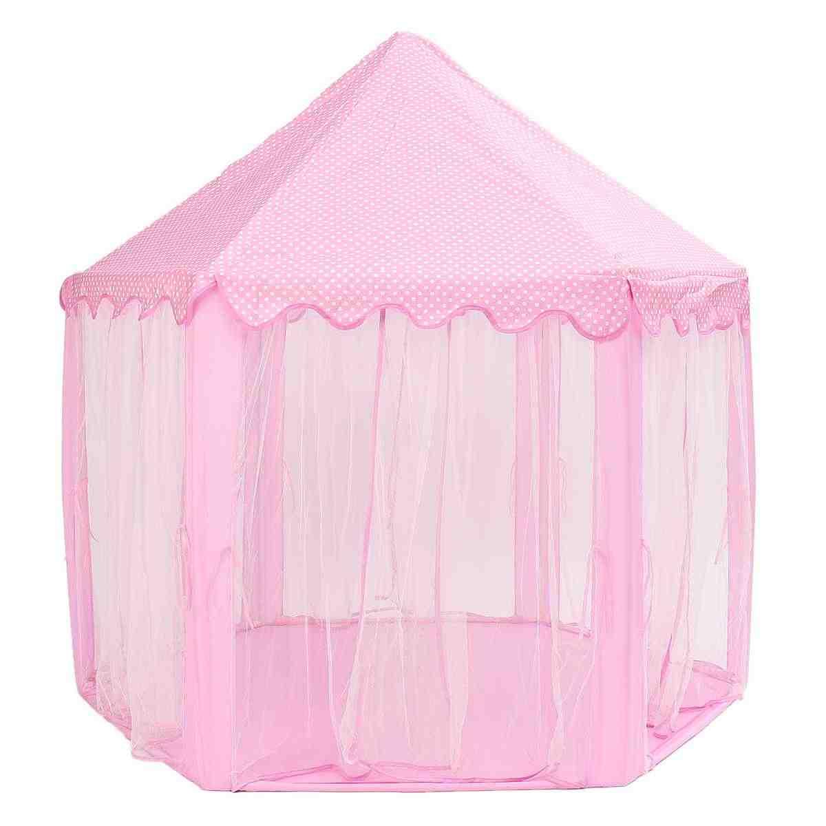 المحمولة الأميرة خيمة لعب على شكل قلعة النشاط الجنية البيت متعة مسرح خيمة للشاطئ الطفل اللعب لعبة هدية للأطفال