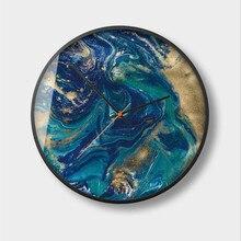 New 3D Wall Clock Quartz Abstract Decorative Modern Design 30cm/35cm Metal Circular Watch For Home Dropshipping