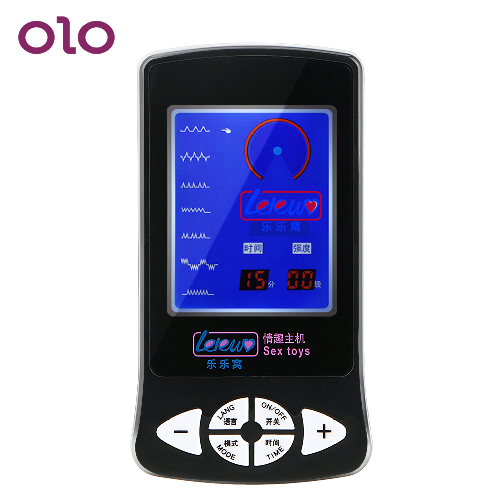 OLO Electric Shock SM Host Electro Stimulation Medical Themed Toys Sex Products Therapy Massager Sex Toys for Women MenOLO Electric Shock SM Host Electro Stimulation Medical Themed Toys Sex Products Therapy Massager Sex Toys for Women Men