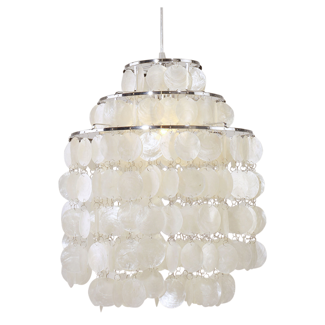 fashion Simple E27 lamp holder Three layers Bedroom lights in Pendant Lights from Lights Lighting