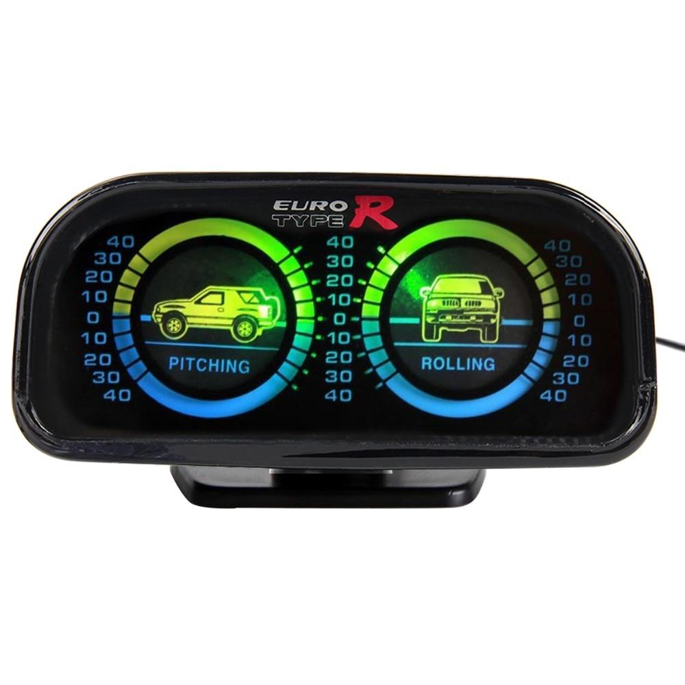 Euro Typer Auto Einstellbare Kompass Balancer Hang Meter Tachometer