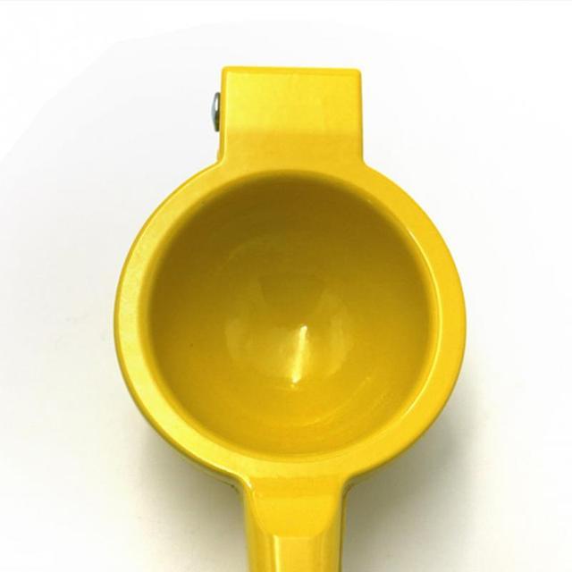 20*6*4CM outils de cuisine citron presse-agrumes en alliage d'aluminium Orange presse-agrumes jus de fruits alésoirs poignée rapide presse outil multifonctionnel 3