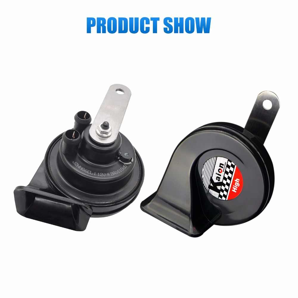 2019 new car klaxon horn 12V car styling parts for vespa loudnes 112db waterproof dustproof perfect function car horn