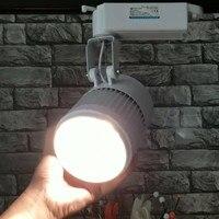 LED Track Licht 30W COB CREE Chip Uit DE VS  Gelijk Aan 300w Halogeen Lamp  rail Light Spotlight  snelle gratis verzending