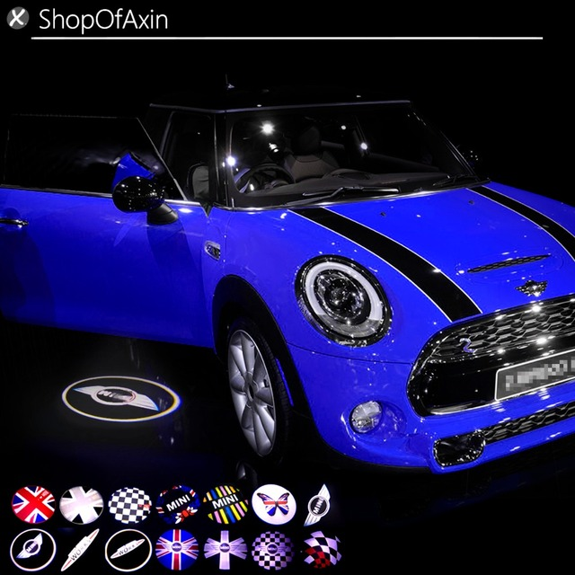 Car Door Welcome Light Wireless Led Highlights For Mini Cooper F54 F55 F56 F60 R55 R56 R60 R61 Or Any Have Lights