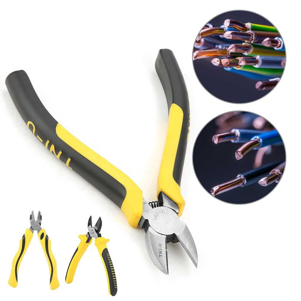 cortador de alambre electr/ónico profesional con alta dureza Cortacables de aleaci/ón de acero inoxidable de 6 pulgadas herramientas de corte.