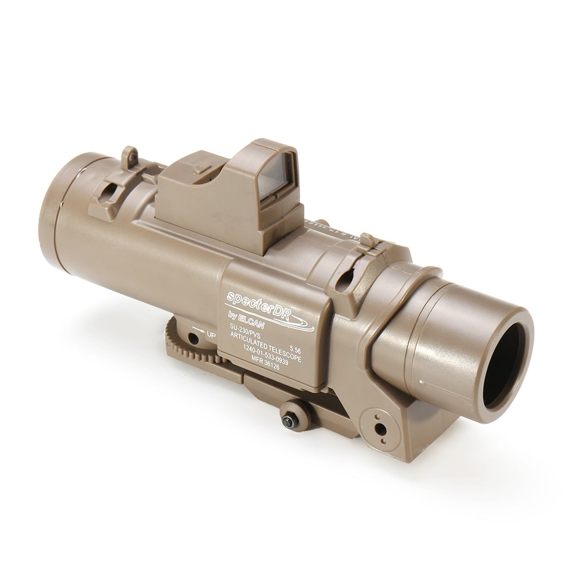 4X Red Dot Sight Tactical Magnifier Scope Primary Hunting For Gel Ball For Blaster