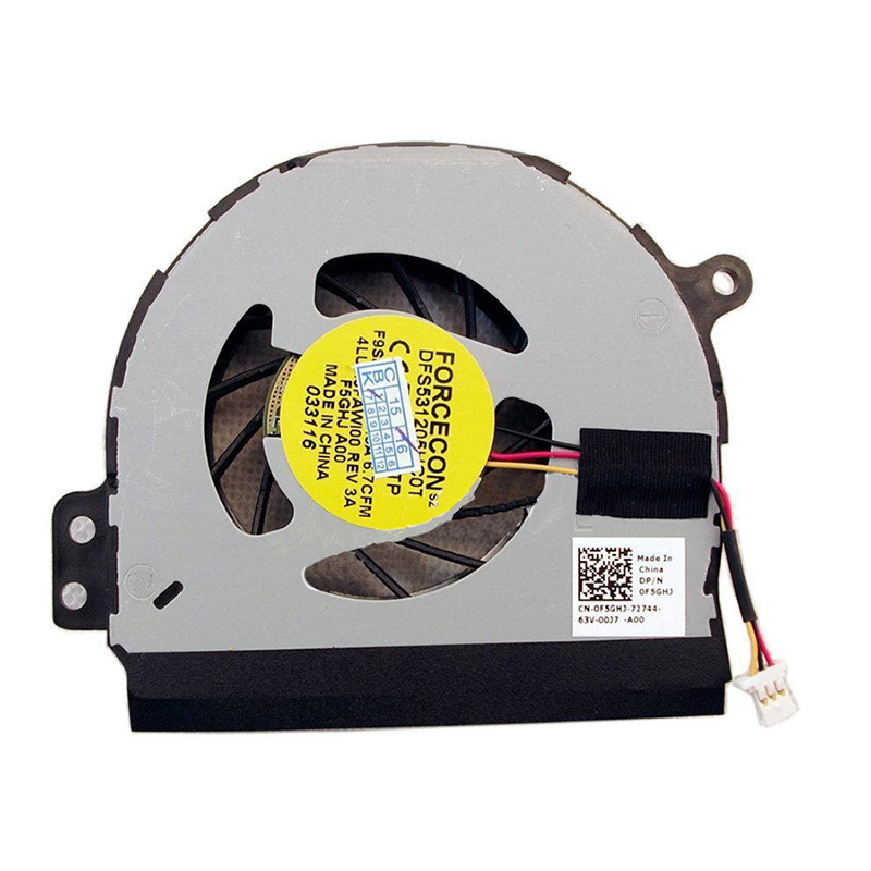 New For Dell Inspiron 1464 1564 1764 Laptop CPU Cooling Fan 0F5GHJ F5GHJ