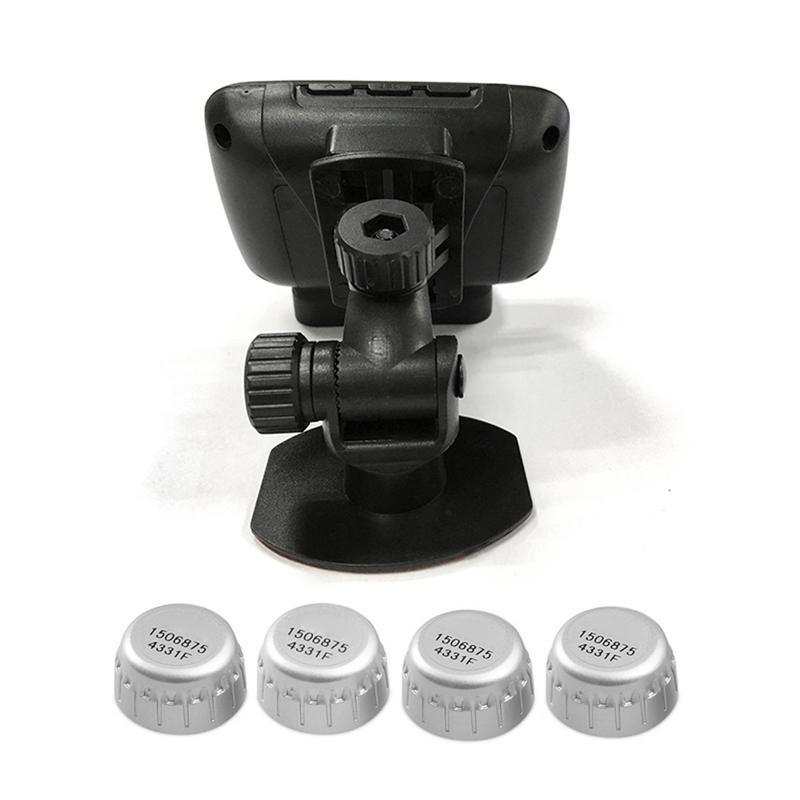 CAREUD U901 Auto Wireless TPMS Tire Pressure Monitoring System mit 4 Externe Sensoren LCD Display Auto Sicherheit Alarm Systeme