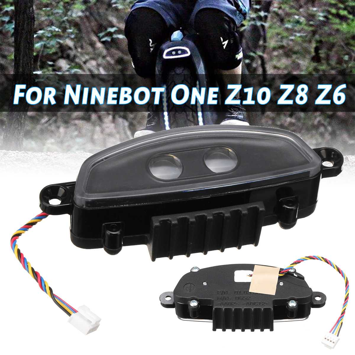 Realistic New Z10 Front Light Original For Ninebot Z10 Front Light Rear Light Spare Parts For Ninebot One Z10 Z8 Z6 Electric Unicycle To Prevent And Cure Diseases Roller Skates, Skateboards & Scooters