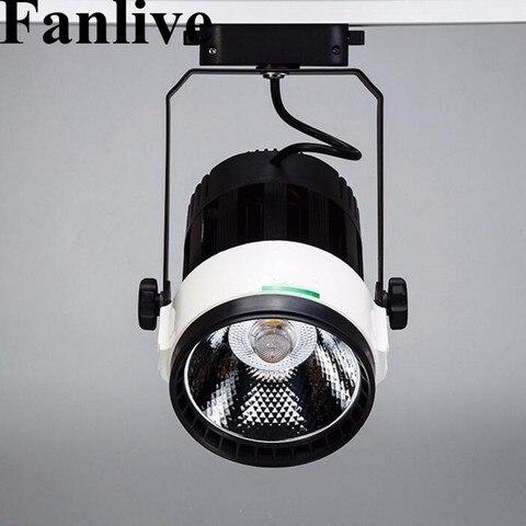 fanlive 15 pcs 30 20 15 w w w cob luz pista cob luzes ferroviarias