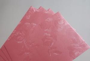 Image 4 - White Floral Embossed Envelope Invitation Gift Envelopes