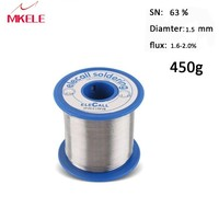 Solder Lead 63/37 Tin 1.5mm 450g electric soldering tin Solder Wire used to Soldering Iron