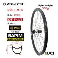 DT Swiss 350 Series 29er Carbon MTB Wheel XC AM Wheelset Chinese Carbon Rim 33mm 29mm 350g Only Super Light Weight