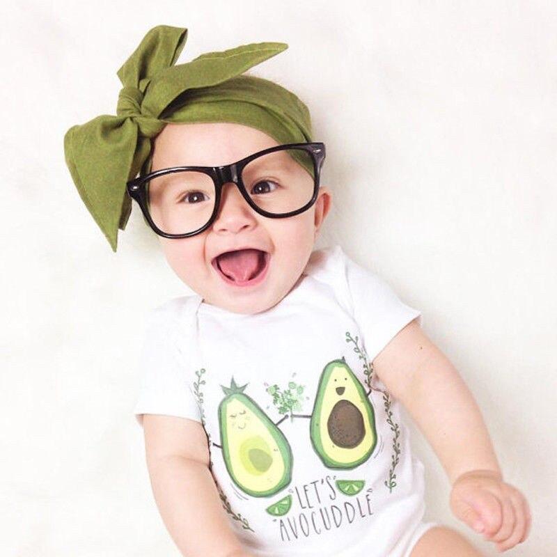 Newborn Summer Cotton Cute Kids Baby Girl Short Sleeve Bodysuit Infant Kids Bebe Leotard Tops Baby Clothes