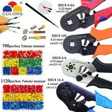 HSC8 10S 0,25 10 мм2 23 7AWG HSC8 6 4A/6 6 0,25 6 мм2 HSC8 16 4 обжимные плоскогубцы электрические трубчатые клеммы мини фирменный Зажим инструменты