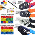 HSC8 10S 0,25-10mm2 23-7AWG HSC8 6-4A/6-6 0,25-6mm2 HSC8 16-4 alicates de prensado de tubo eléctrico Caja mini herramienta de abrazadera de marca