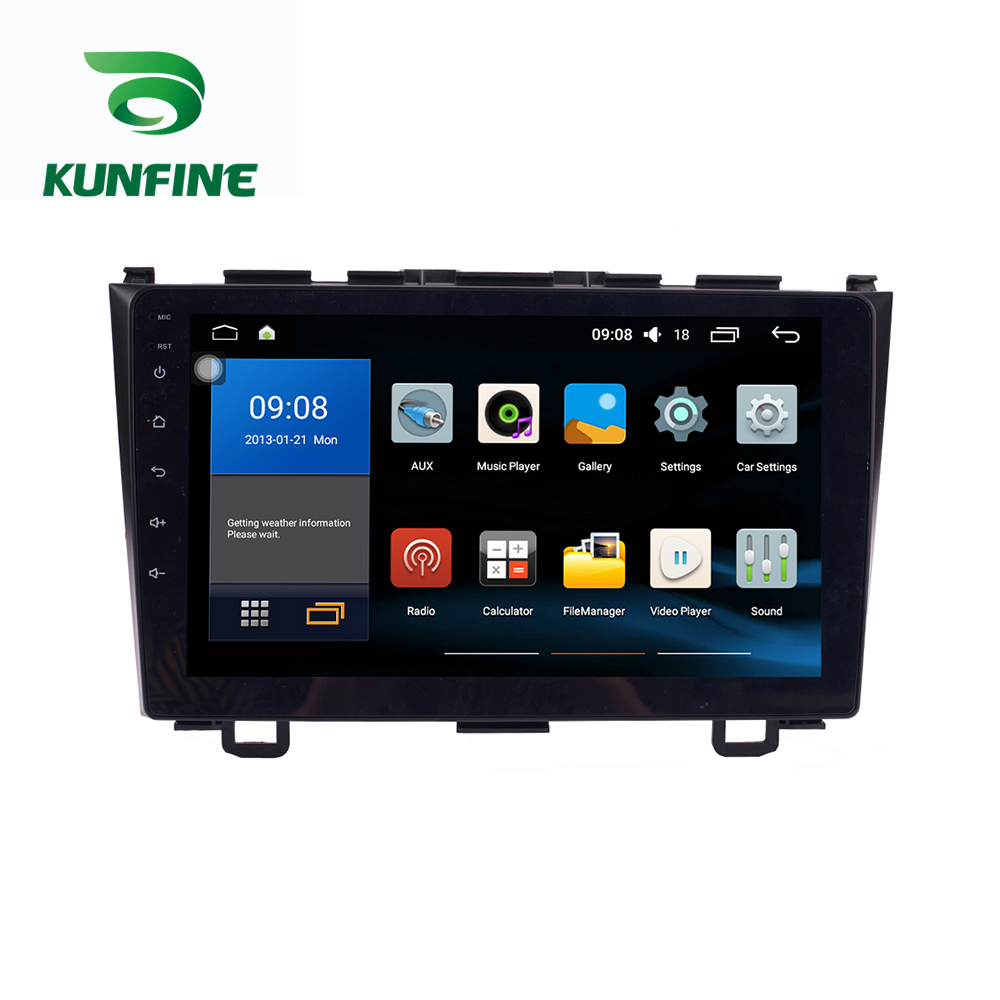 Octa Core 1024*600 Android 8.1 Car DVD <font><b>GPS</b></font> Navigation Player Deckless Car Stereo for <font><b>Honda</b></font> <font><b>CRV</b></font> <font><b>2007</b></font>-2011 Radio Headunit Wifi image