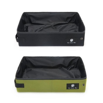 Folding Waterproof Cat's Litter Pan