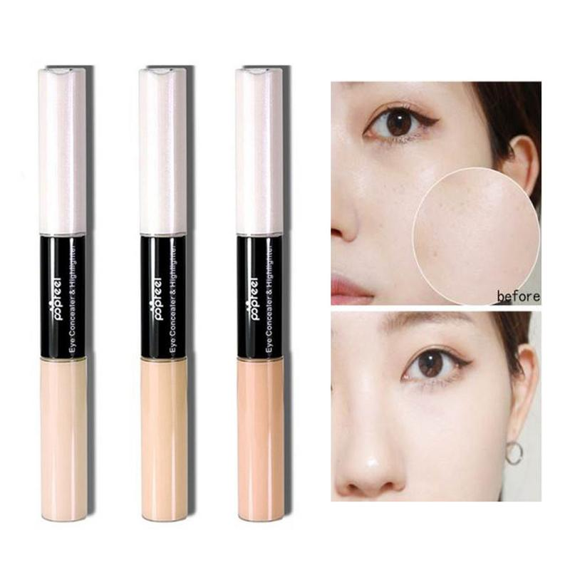 Brightening Makeup Concealer Oil control Waterproof Under eye Dark Circles Cover Concealing Liquid Foundation For Eyes in Concealer Base from Beauty Health
