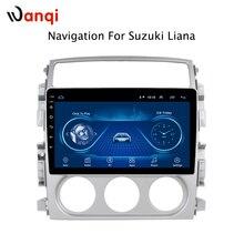 9 pollici Android 8.1 schermo di tocco pieno di auto sistema multimediale per Suzuki LIANA 2007-2013 auto gps radio di navigazione