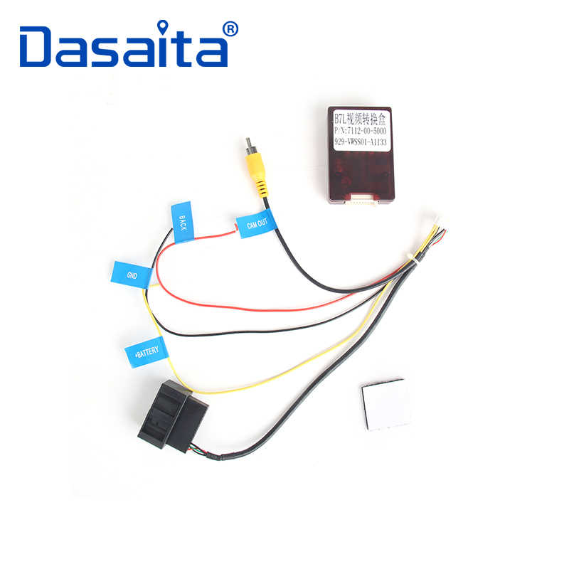CVBS RGB Signal Converter Adaptor for VW Volkswagen RNS315 ... Wiring Diagram For Rcd on